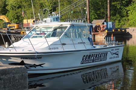 Compensator Lake Erie Fishing Charter